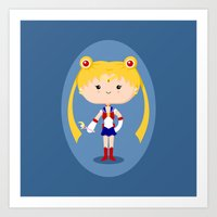 Sailor Girl Art Print