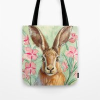 Bunny And Fireweed A089 Tote Bag