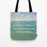 Oceanic Inspiration Tote Bag
