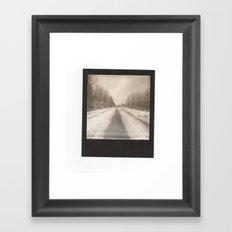 go it alone Framed Art Print