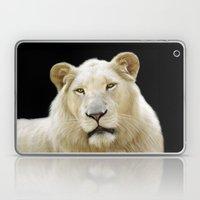 White Lion Laptop & iPad Skin