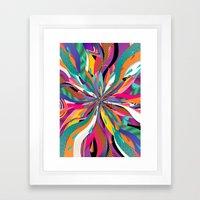 Pop Tunnel Framed Art Print
