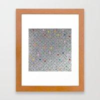 Pin Points Polka Dots Sh… Framed Art Print