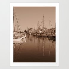 The Harbour II Art Print