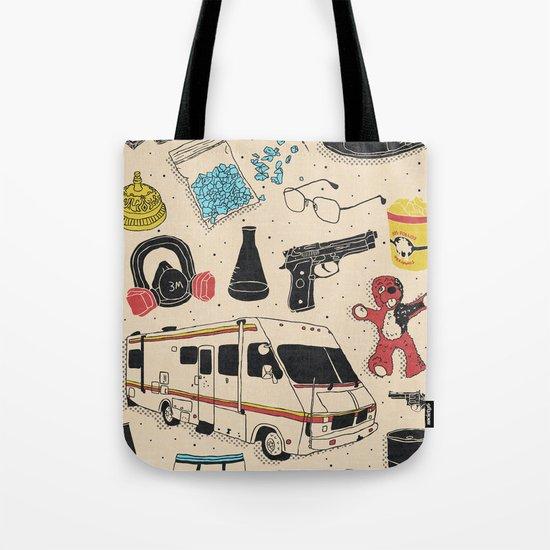 Artifacts: Breaking Bad Tote Bag
