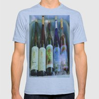 Vino Time Mens Fitted Tee Athletic Blue SMALL