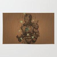 Wooden Man Rug