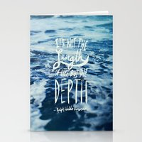 Depth X Ocean Stationery Cards