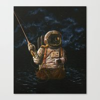 Alone(And Loving It) Canvas Print