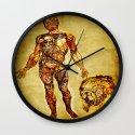 bionic man  Wall Clock