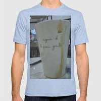 A Cuppa Mens Fitted Tee Athletic Blue SMALL