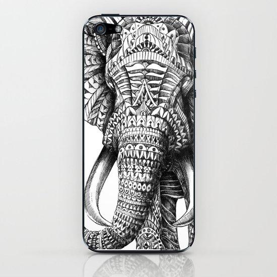 Ornate Elephant iPhone & iPod Skin