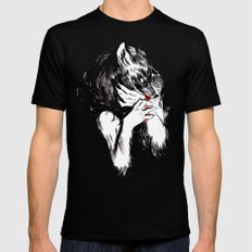 Bitten Mens Fitted Tee Black SMALL