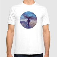 Entropic Misadventure Mens Fitted Tee White SMALL