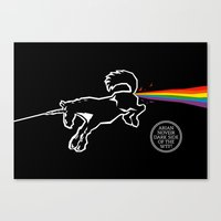 Dark Side Of The WTF! Canvas Print