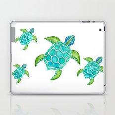 Watercolor Sea Turtle Laptop & iPad Skin