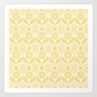 Marigold Art Print
