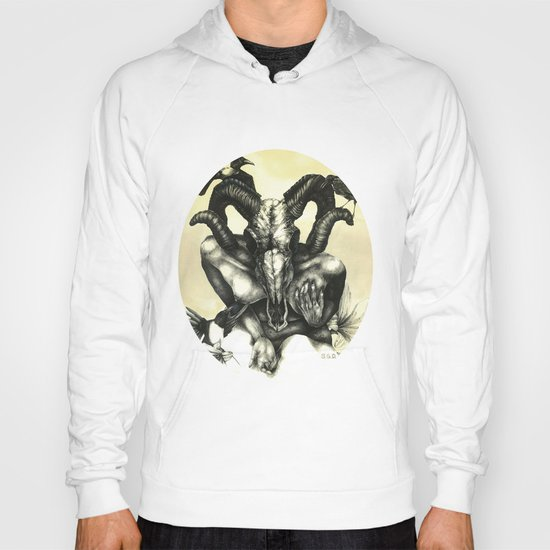 The Ram and the Crows Hoody