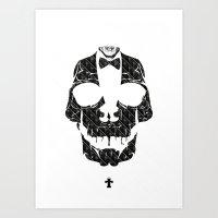 TML SKULLIFASHION Art Print