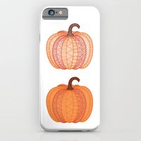 iPhone & iPod Case featuring Patterned Pumpkin by Mariya Olshevska