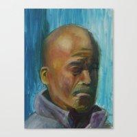 Grump Canvas Print