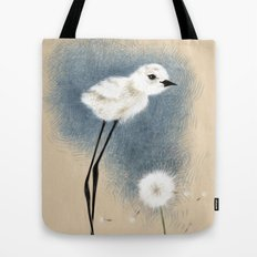 Snowy Stilted Plover Tote Bag