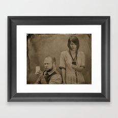 Wet plate of the modern age Framed Art Print