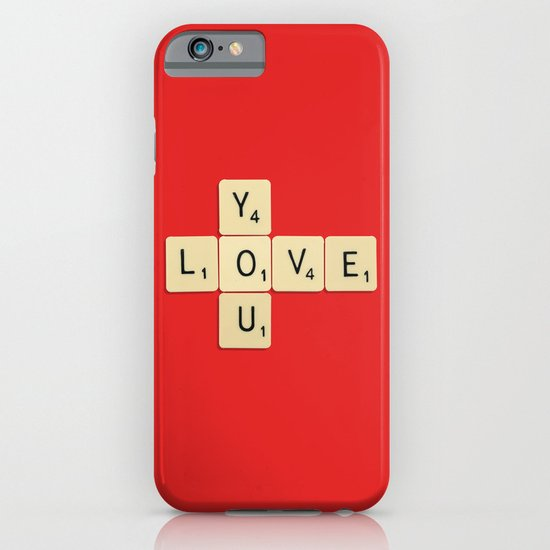 Love You iPhone & iPod Case