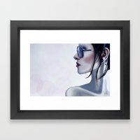 Eyewear Fashion Victim Framed Art Print