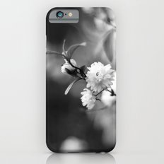 Flowering Almond in Black and White iPhone 6 Slim Case