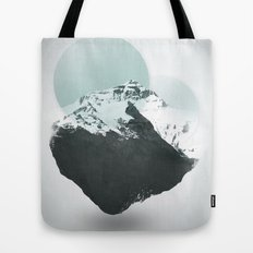 Mt. Everest - The Surreal North Face Tote Bag
