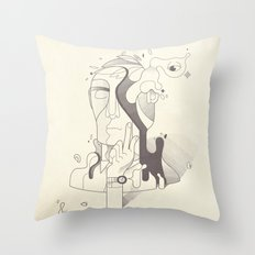 Get It Together Throw Pillow