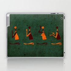 Forms of Prayer - Green Laptop & iPad Skin