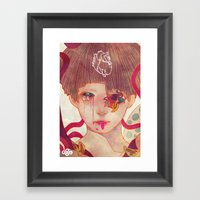 Who Are The Living Who A… Framed Art Print