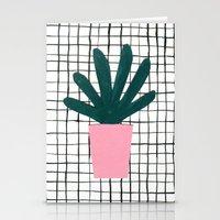 Plant Pot Stationery Cards