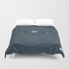 BLADE RUNNER (Voight Kampf Test Version) Duvet Cover