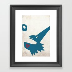 Latios Framed Art Print
