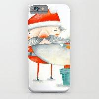 Santa and friend iPhone 6 Slim Case