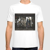 New chapter Mens Fitted Tee White SMALL
