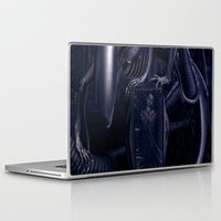 alien Laptop & iPad Skins featuring Alien by MatoSwamp