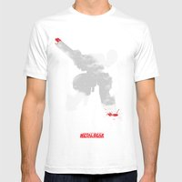 Metal Gear Solid - If Yo… Mens Fitted Tee White SMALL