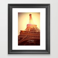 Eiffel Tower II Framed Art Print