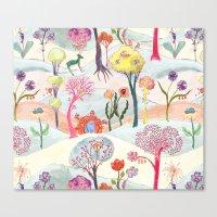Garden Party - Print Canvas Print