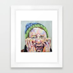 Inferno I Framed Art Print