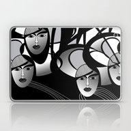 Oriental Women Laptop & iPad Skin