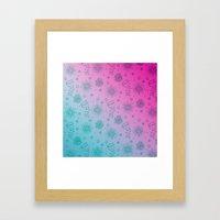Summer Flower pattern Framed Art Print