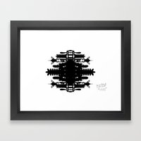 A Template for Your Imagination Framed Art Print