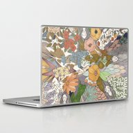 Falling Asleep In The Fl… Laptop & iPad Skin