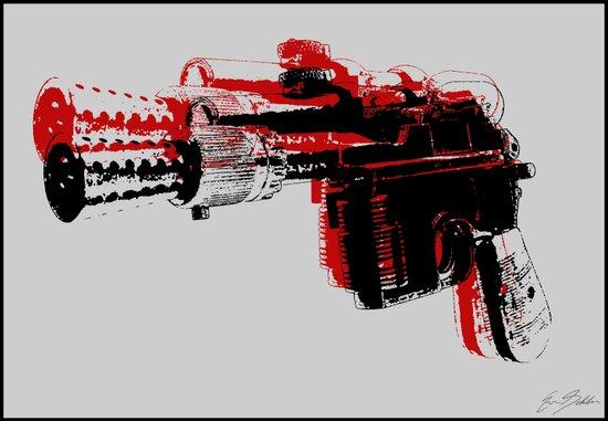 Blaster III Art Print