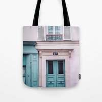 Paris Facades. Tote Bag